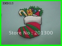 EMB015 heat transfer embroidered patch,FREE SHIPPING