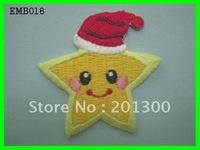 EMB018 heat transfer embroidered patch,FREE SHIPPING