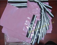 "free shipping 1000pcs/lot 10""*13"" factory wholesale pink high quality express bag poly mailer bag mailing bags poly envelope"