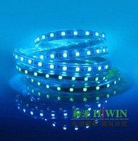 220v led strip led tape 5050 60 leds per meter RGB color  waterproof IP65 outdoor use 14.4w/m