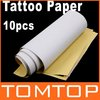 2sets/lot 10 PCS/set  Master Tattoo Stencil Transfer Paper Free Shipping Dropshipping(China (Mainland))
