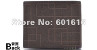 lh010 Free Shipping!!! fashion men wallet,men genuine leather messenger wallet