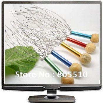 40pcs/lot Neck Scalp Head Massager Tingler Stress Release SGS, TUV cert, Free Shipping