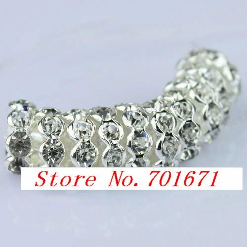 Wholesale Free Shipping Hotsale New products on the market Classical style Crystal Rhinestones stretch bracelet a860819