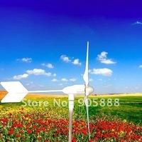 Free shipping! 600W DC12V 24V 5 blades wind power generator/wind turbine/windmill