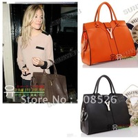 2013 Fashion Europe Lady Women Handbag Satchel bag PU Leather free shipping 3839