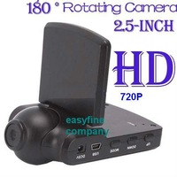 2012 NEW FREE SHIPPING 2.5INCH TFT HD Color LCD Car Camera DVR Recorder SD/MMC CARCAM CAMCORDER