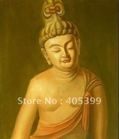 Free Shipping  Newest  Religious  Painting  Buddha  Oil  Painting on Canvas   ytfx007
