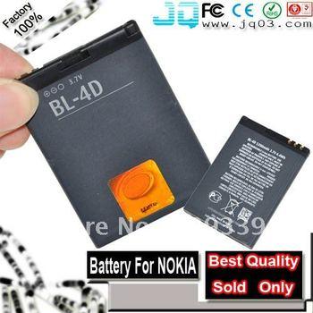 Genuine 1200mah Battery BL-4D BL4D BL 4D 4D For Nokia E7-00 N8-00 N97 mini Bateria ( Free Shipment )