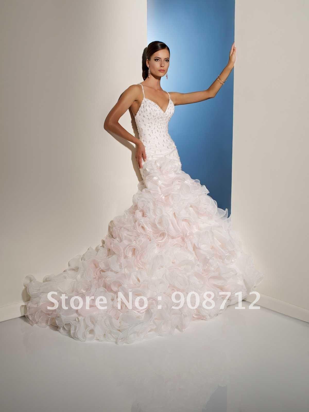 Designer Feather Dresses