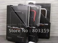Deff Cleave Black Aluminum for Iphone 4 & 4s Metal Bumper Case Cover Original Silver