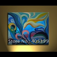 Free Shipping !! Drop Ship! Gallery Quality Modern  Abstract  Oil Painting On Canvas ytktv(73)