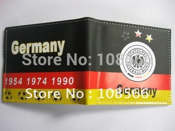 Germany Color Printing PU wallet,  Germany purse