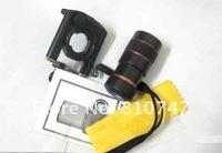5pcs/lot brand new Cell Phone Digital Binoculars Camera Optical Zoom Lens for phone mp4 mp5