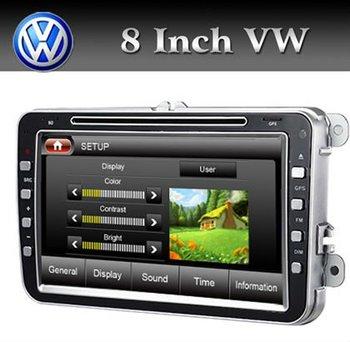 Hot  Car DVD VW Mogtan/Golf5/Golf6/Jetta/Tiguan/Seat With GPS/BT/TV/RDS/PIP/Free shipping