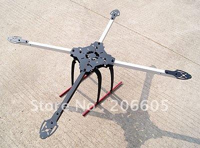 Projetos: Tri, quadri, hexacopteros... - Página 3 Fiberglass-4-axial-Quadcopter-Frame-QUADX-QUAD-Multi-coper-W-tall-landing-Gear-Set