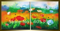 Free Shipping !!! Huge Modern Abstract Oil Painting On Canvas ,House  Painting JYJATH056