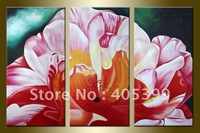 Free Shipping !!! Huge Modern Abstract Oil Painting On Canvas ,House  Painting JYJATH054