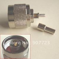 10pcs N male straight crimp RG174 RG178 RG316 RG188 connector