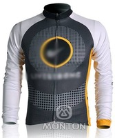Free Shipping! 2012 New Arrival Men outdoors Sport   team long sleeve cycling jersey  TOP /bicycle gear TOP   TL101