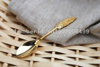 12 pcs/lot super mini 11cm Wheat spoon for tea coffee ice cream as gift free shipping