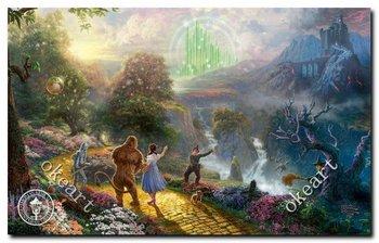 Free shipping Dorothy discovers the emerald city Thomas kinkade Art print 20X24 inch 0325