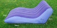 Free shipping ''S'' shape sofa  / inflatable sofa  /flocking sofa