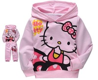 children's/kid/kids/girls  Spring and autumn  clothes/clothing t shirt shirts t-shirt t-shirts +pants 2 pcs set  8333