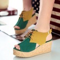 New arrive spring/summer women fashion sandals  flat comfortable wedges fashion shoes freely shipping SW025