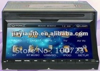 "free shipping!2Din Car stereo DVD with 7""(16:9)touch screen monitor with GPS free map"