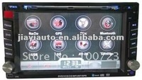 "free shipping!2Din Car stereo DVD with 6.2""(16:9)touch screen monitor with GPS free map"