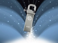 Free Shipping New HP V250W USB2.0 Flash memory Driver Disk stick Silver full 8GB for gift