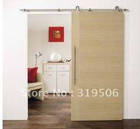 Modern barn door hardware for wood door with free shipping
