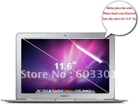 "100pcs/lot High Clear Screen cover for macbook air 11.6"", For macbook 11.6"" air screen protector, OPP bag packing"