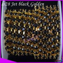 cheap black rhinestone chain