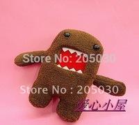 "DOMO plush doll min-toys 10cm&4"" high stuffed doll 10pcs/lot"