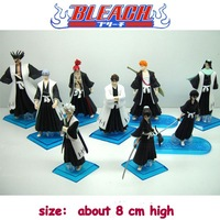 9 Characters Animation Figures Kinds of  Hands Death Bleach Doll With base Azrael / Death Deity /God of Death 6   D-06G Retail