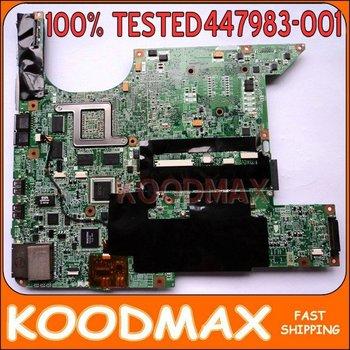 Laptop Motherboard FOR  dv9000 MAINBOARD 447983-001 100% TESTED*KOODMAX
