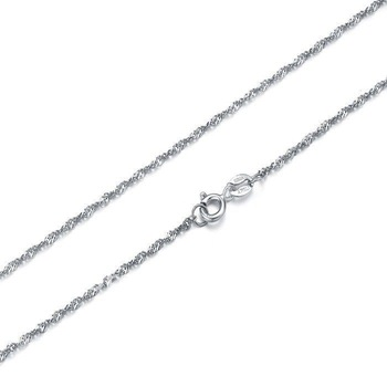 Free shipping!!45cm/40cm chain silver 925 hotsale Please you onlookers
