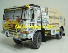 popular truck paper model