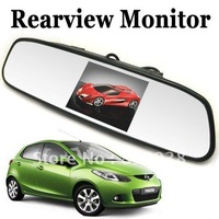 """HOT SALE 4.3"""" 4.3 Inch car monitor Color Digital Screen Car Rear View Rearview Mirror Monitor"""