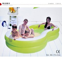 Free shipping 8-shaped inflatable pool / increase the family swimming pool
