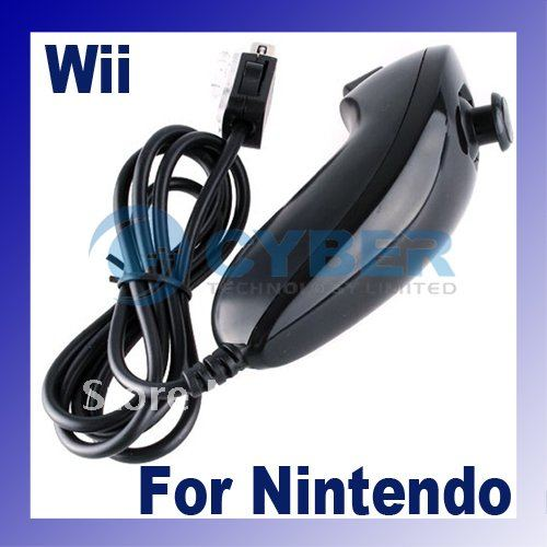 Wireless Remote Controller + Nunchuck For Wii Free Shipping