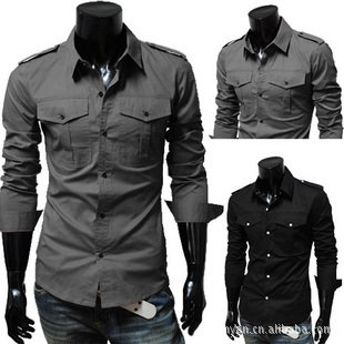 Best Designer Clothes For Men NEW slim fit best shirts for