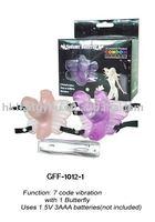 Wear type 7 code vibration toys, Sex vibrator,woman sex massager,vibrating dildo GFF-1012-02