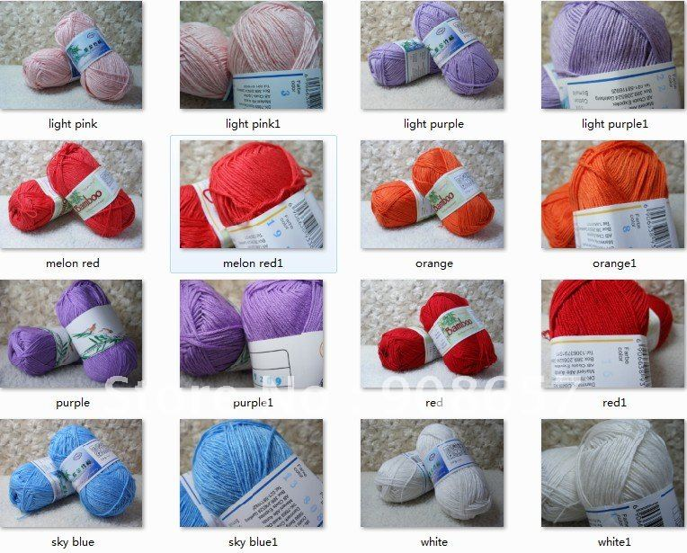 ... -Cotton-Knitting-Yarn-Sport-Weight-200g-Red-Blue-Orange-Black.jpg