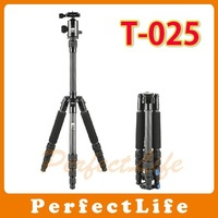 Pro SIRUI T-025 + C10 Carbon Fiber Tripod ball head kit for DSLR With Bag A031G002