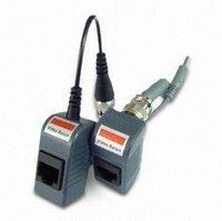 Single channel PVD video balun pair