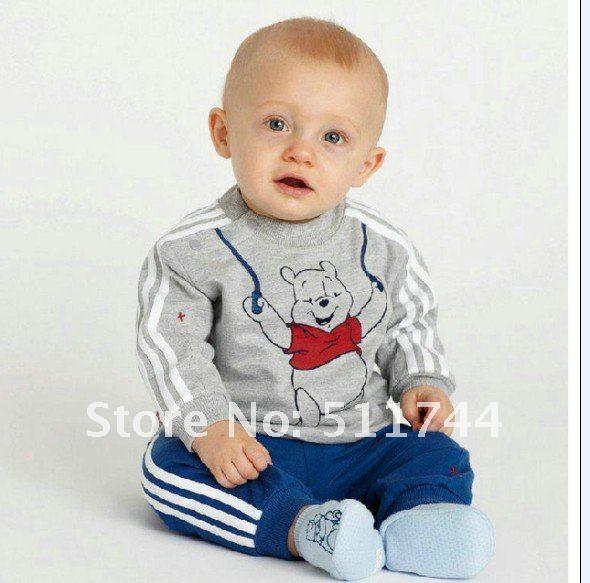 Clothes set boy clothing set baby coat pants suits child wear kids