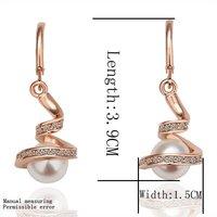 Promotion,18k gold Plated earrings,18k gold jewelry ,wholesale fashion jewelry earrings,Free shipping KE011
